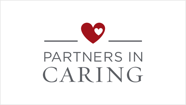 Partners in Caring logo