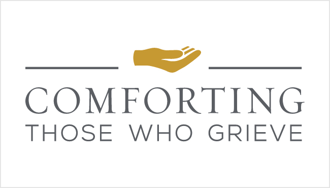 Comforting Those Who Grieve Logo