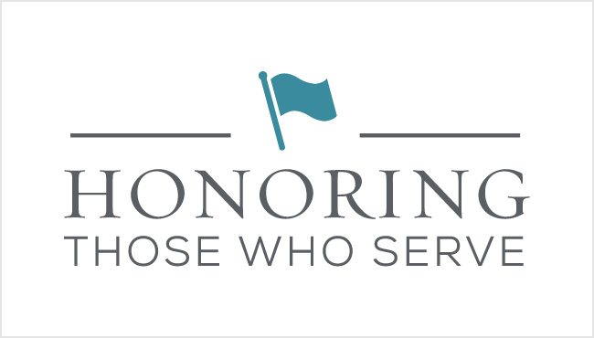Honoring Those Who Serve Logo